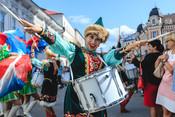 «Фанфары Казани»: по городу маршем прошли лучшие духовые оркестры России