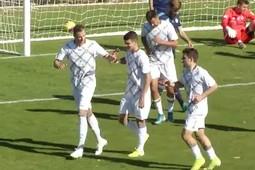 Тарасов забил первый гол за «Рубин»