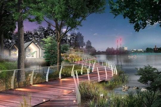 Реальность и ожидание: как преобразится берег озера Кабан со стороны улицы Хади Такташа?