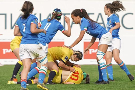 Женское регби в Казани: победа любой ценой