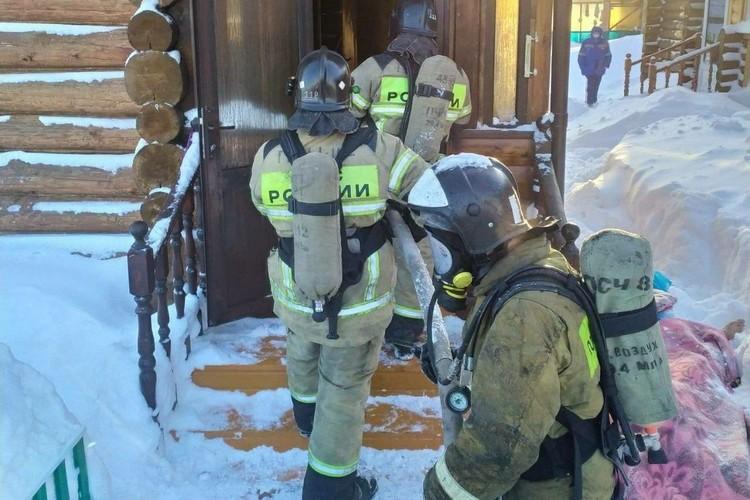 При пожаре в Татарстане погибли четыре человека, среди них двое детей