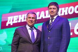 Президент Татарстана поздравил машиностроителей с профессиональным праздником