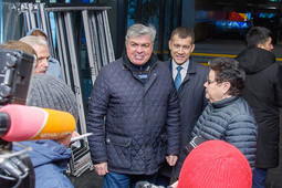 Наиль Магдеев совершил объезд капитально ремонтируемых спорткомплекса «Витязь», ДК «Энергетик», строящегося фитнес-центра и онкоцентра