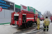 В Татарстане в одном из торговых центров произошел пожар