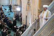 Курбан-байрам в Москве: Равиль Гайнутдин выступил в Соборной мечети
