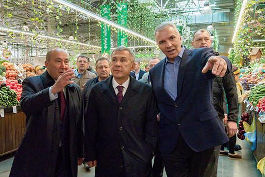 Минниханов в агропромпарке: в Казани завершается сезон весенних ярмарок