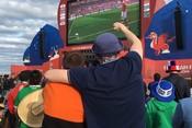 Как в Казани смотрели матч открытия ЧМ-2018