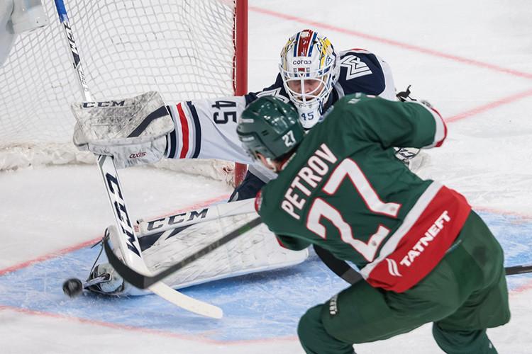 «Ак Барс» дома проиграл «Металлургу» в регулярном чемпионате КХЛ
