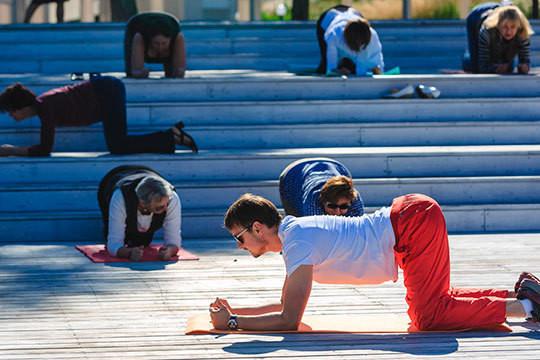 Доктор Иванов провел мастер-класс «Секреты здоровой спины»