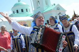 В Русском Никольском в 24-й раз встретили фестиваль русского фольклора «Каравон»