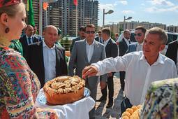 Минниханов посетил скачки на приз «Сабантуй-2018»