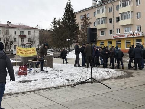 ВКазани ввоскресенье будут протестовать дальнобойщики ивкладчики «Татфондбанка»