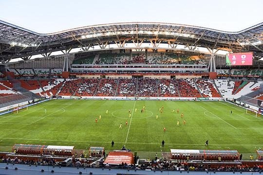 Наподготовку стадионов Казани кКубку конфедераций выделено свыше 2 млрд руб.