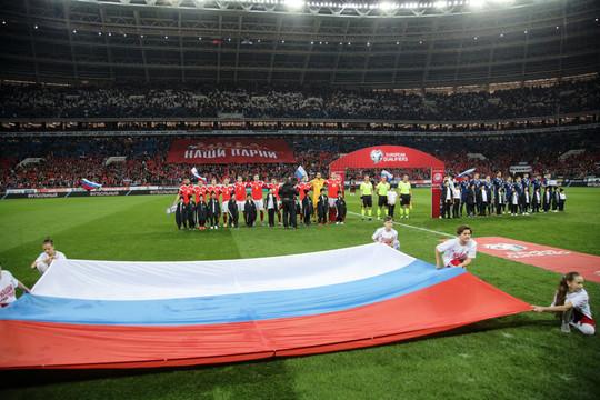 Российских футболистов обяжут соблюдать социальную дистанцию