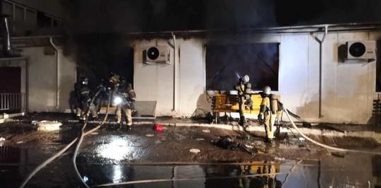 В Татарстане командир отделения спасательной части получил ожоги при тушении пожара