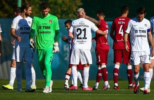 «Рубин» сыграл вничью с «Уралом» в закрытом контрольном матче