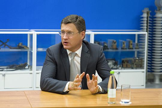 Новак останется министром энергетикиРФ инеподнимется доуровня вице-премьера