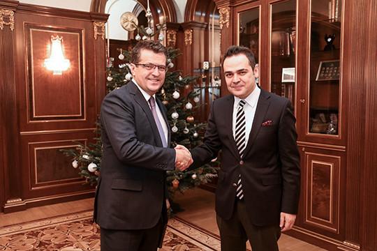 ВКазани прошла встреча председателя государственного совета РТигенерального консула Турции