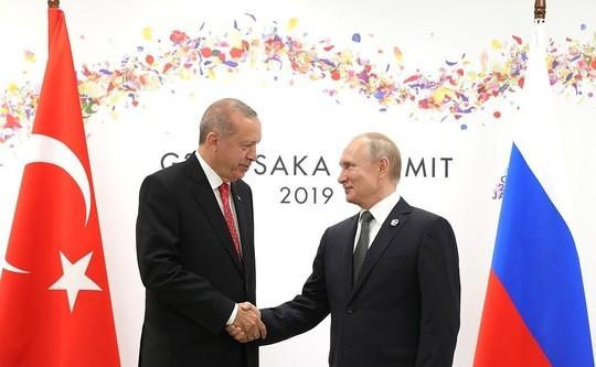 Путин на встрече с Эрдоганом рассказал о щедрых российских туристах: «Они умеют отдыхать»