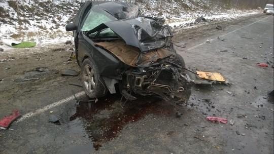Шофёр изТатарстана врезался втягач натюменской трассе и умер