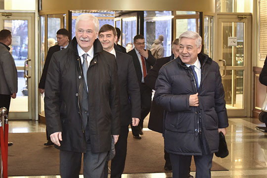 Уполномоченные «Единой России» Татарстана встретились счленамиЦК КПКитая