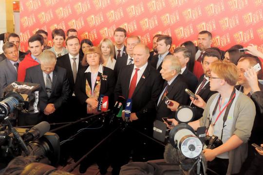 Зюганов прокомментировал возможность своего участия впрезидентских выборах