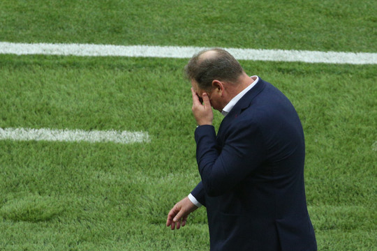 «Рубин» проиграл «Спартаку». Команда Слуцкого во второй раз в сезоне не забила ни одного мяча