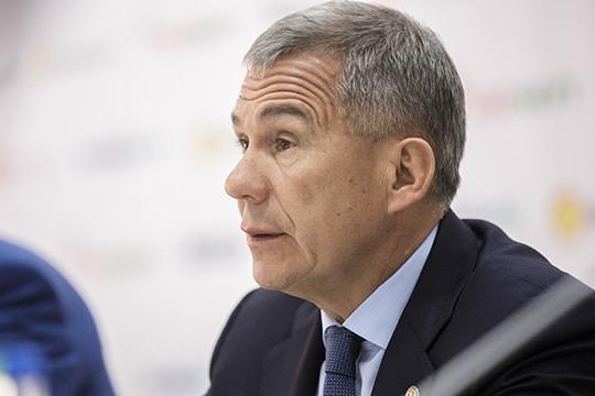 Рустам Минниханов: Татарстан занимает пятое место пообъему отчислений вбюджетРФ