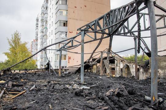 До трагедии жители Челнов сообщали участковому о детях в здании ресторана «Арарат»