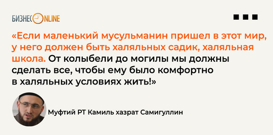 Камиль Самигуллин объяснил, что значит «халяль lifestyle»