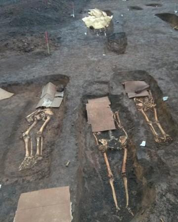 В Татарстане нефтяники обнаружили массовое захоронение людей