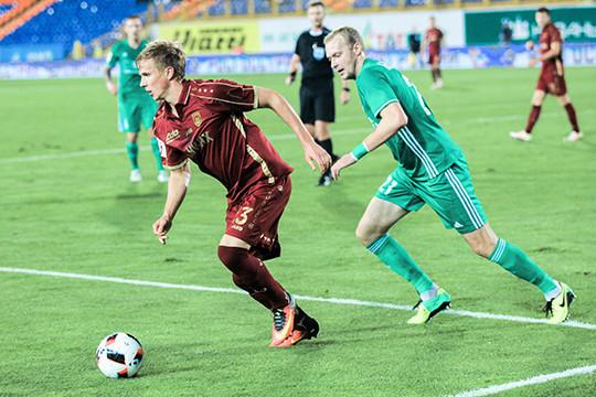 Футбольная «Томь» устояла вматче сказанским «Рубином»