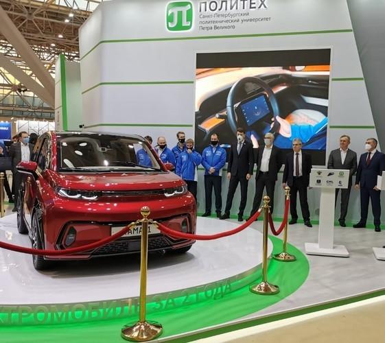 «КамАЗ» презентовал свой первый электромобиль «Кама-1»
