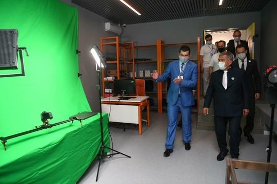 «Татнефть» и «Союзмультфильм» открыли в Альметьевске школу анимации