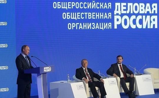 Путин: Цель— выйти наустойчивый рост экономики
