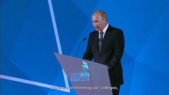 Путин на закрытии WorldSkills: «Уверен, нашим гостям понравилась Казань»