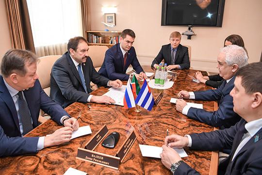 Алексей Песошин: Татарстан заинтересован врасширении номенклатуры иобъемов торговли сКубой