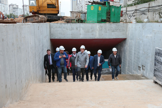 Работы настанции метро «Дубравная» планируют закончить впервом зимнем месяце