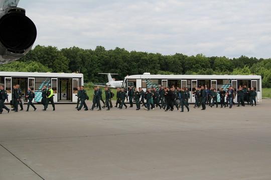 ВИркутскую область для борьбы слесными пожарами перебросили десант изКазани