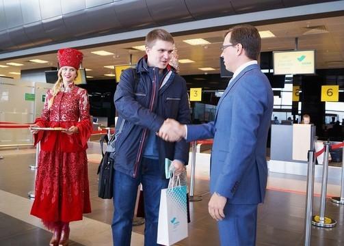 Аэропорт «Казань» обслужил 2 млн пассажиров