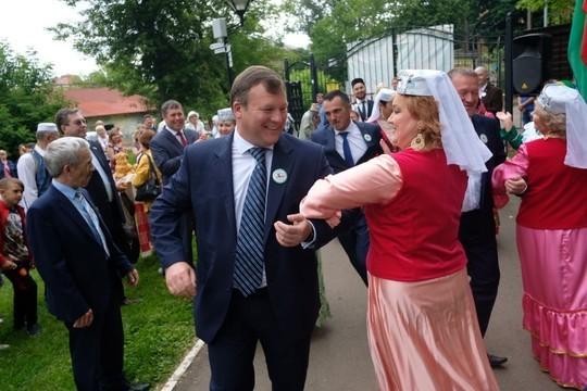 Лаишевский район провел Сабантуй в подмосковном Щелково