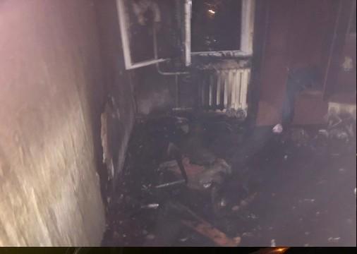 На пожаре в Казани спасены два человека
