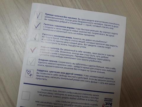 В Челнах населению перед выборами раздали графические тесты: «Галочка может многое рассказать о характере»