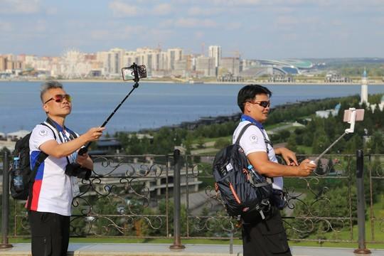 Самая массовая экскурсия по Казани собрала почти 2 тыс. участников WorldSkills