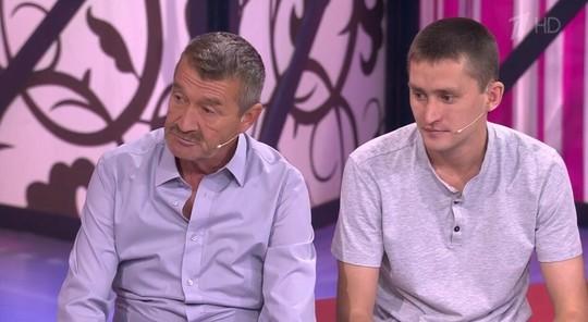 В студии телешоу «Мужское/Женское» житель Елабуги встретился с отцом, которого искал 17 лет