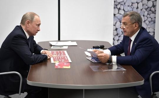 Центр дзюдо «Батыр» и специальное послание для Эрдогана: о чем Путин поговорил с Миннихановым?