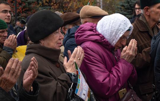 В сквере им. Тинчурина прошел митинг, посвященный дню взятия Казани Иваном Грозным