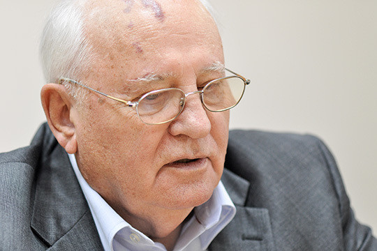 Михаил Горбачев раскритиковал государственное управление вколонке оПутине для Time
