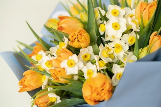 Особенный букет-комплимент к 8 Марта: в выборе вам поможет «Астра Декор»