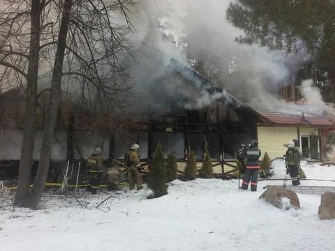 Вресторане наЛебяжьем произошел серьезный пожар
